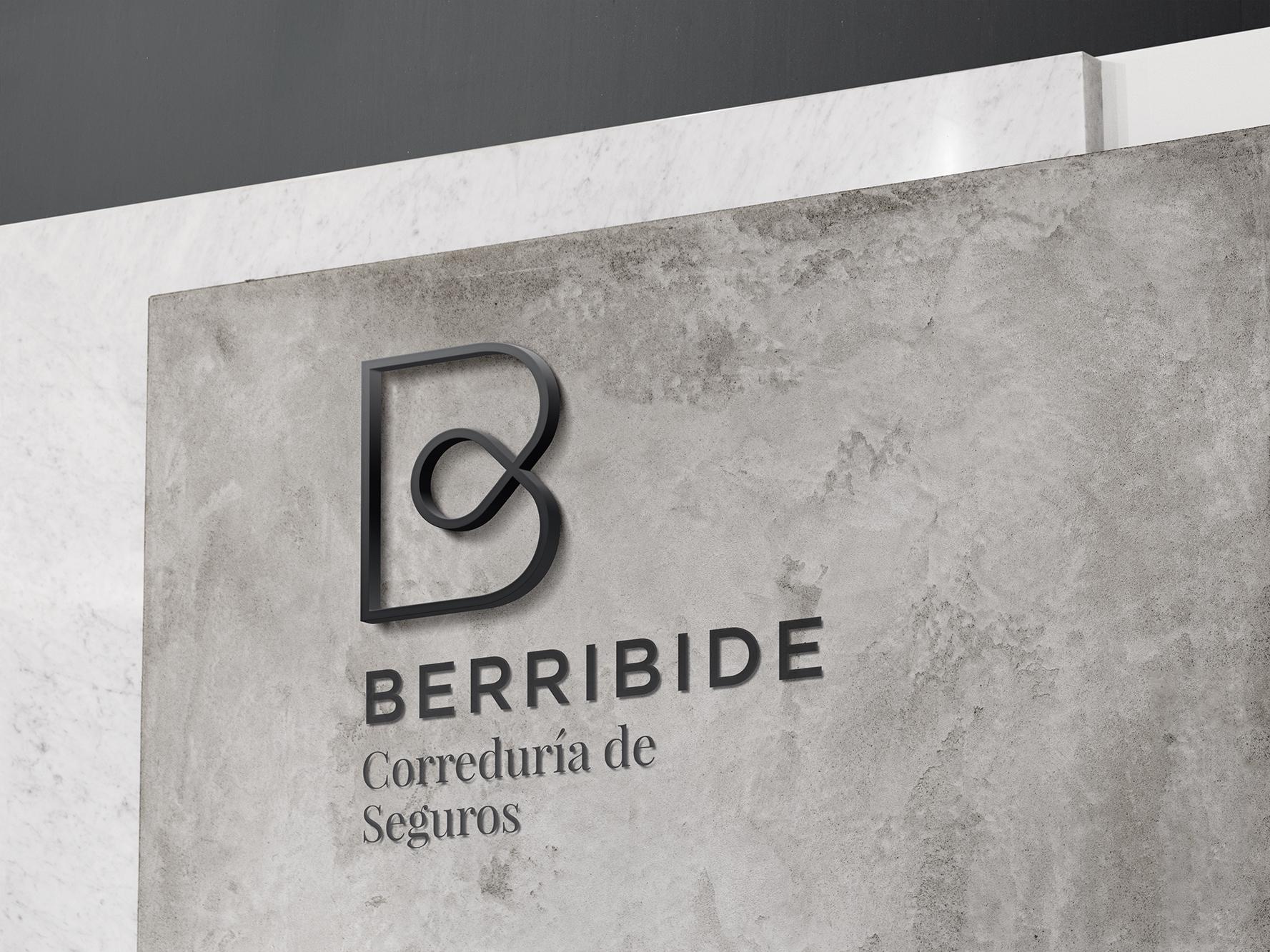 Diseño de identidad corporativa para Berribide