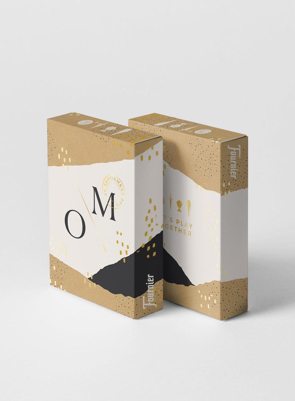 Diseño de packaging personalizado para Naipes Fournier