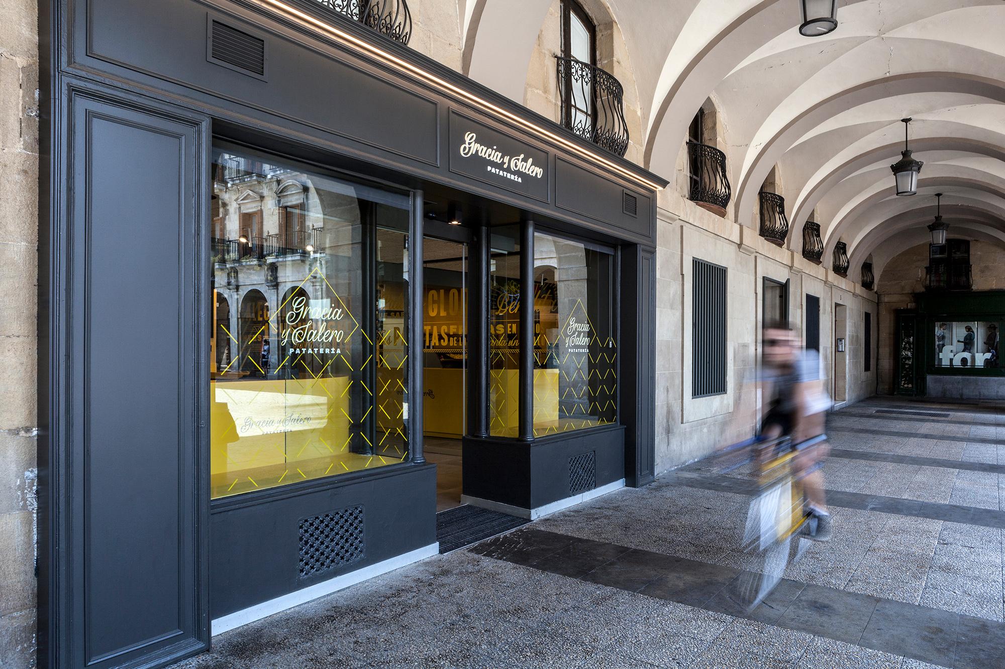 Rotulación en vinilo para comercio en Vitoria-Gasteiz