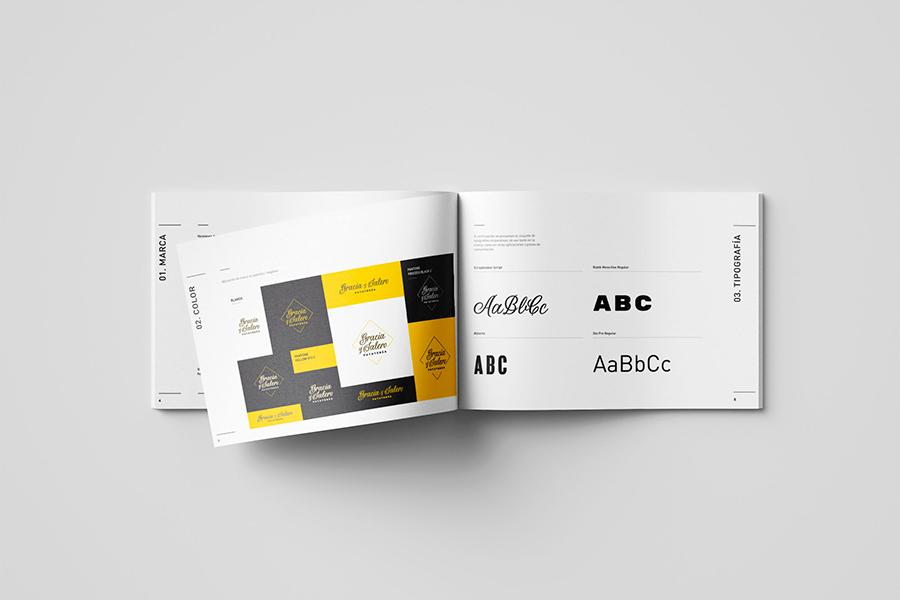 Tipografía y color en Manual de idenditdad corporativa